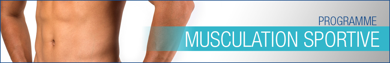 Programme musculation sportive